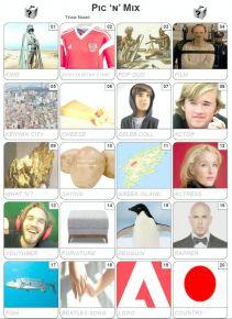 Pic 'n' Mix Picture Quiz - PR2069