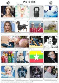 Pic 'n' Mix Picture Quiz - PR2071
