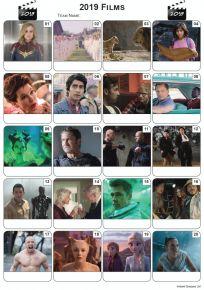 Films of 2019 Picture Quiz - PR2076