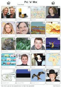 Pic 'n' Mix Picture Quiz - PR2077