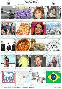 Pic 'n' Mix Picture Quiz - PR2078