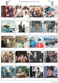 James Bond Films Picture Quiz - PR2085