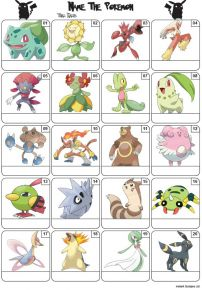 Pokemon Picture Quiz - PR2092