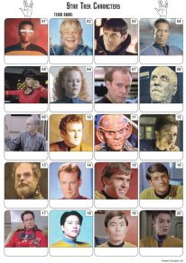 Star Trek Picture Quiz - PR2096