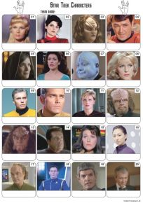 Star Trek Picture Quiz - PR2097