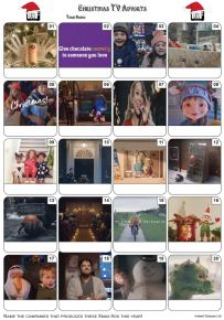 Christmas TV Adverts 2019 Picture Quiz - PR2102