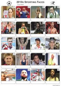 Sporting Faces of the 2010s Picture Quiz - PR2110