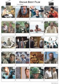 Best Film Oscar Winners Picture Quiz - PR2125