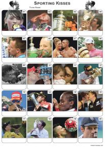 Sporting Kisses Picture Quiz - PR2136