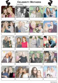 Celebrity Mothers Picture Quiz - PR2147