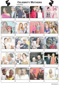 Celebrity Mothers Picture Quiz - PR2148