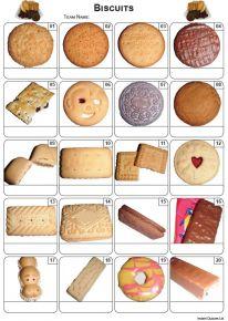 Biscuits Picture Quiz - PR2179