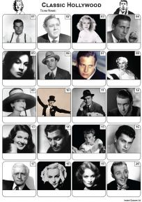 Classic Hollywood Picture Quiz - PR2194