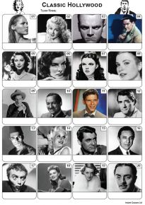 Classic Hollywood Picture Quiz - PR2195