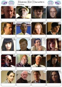 Breaking Bad Picture Quiz - PR2201