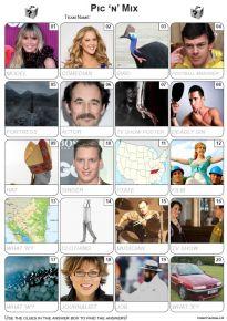 Pic 'n' Mix Picture Quiz - PR2204