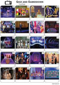 TV Quiz and Gameshows Picture Quiz - PR2248
