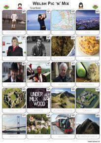 Welsh Pic 'n' Mix Picture Quiz - PR2257