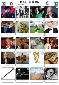 Irish Pic 'n' Mix Picture Quiz - PR2258