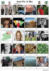 Irish Pic 'n' Mix Picture Quiz - PR2259