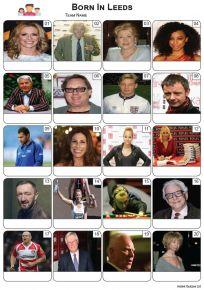 Born In Leeds Picture Quiz - PR2266
