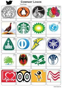 Company Logos Picture Quiz - PR2270