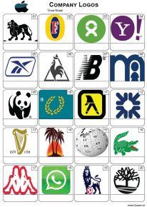 Company Logos Picture Quiz - PR2271