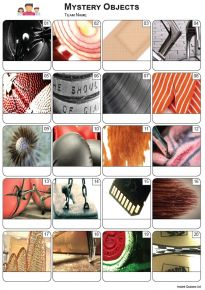 Mystery Objects Picture Quiz - PR2275