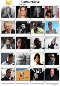 Animal Names Picture Quiz - PR2279