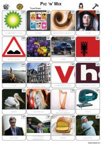 Pic 'n' Mix Picture Quiz - PR2290