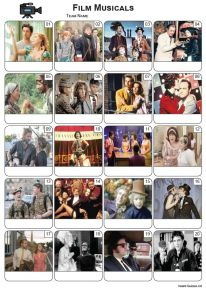 Films Musicals Picture Quiz - PR2298