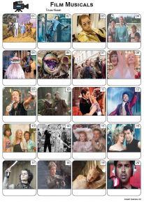 Films Musicals Picture Quiz - PR2299