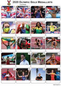 2020 Olympics Gold Medallists Picture Quiz - PR2300