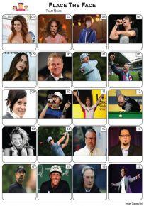 Place The Face Picture Quiz - PR2306