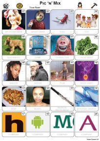 Pic 'n' Mix Picture Quiz - PR2309