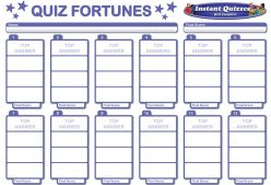 Quiz Fortunes Pack 307