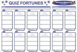 Quiz Fortunes Pack 312