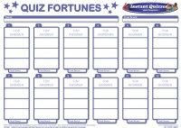 Christmas Quiz Fortunes Pack 5