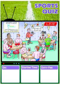 Free Sport Quiz Poster