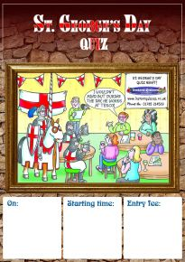 Free Saint George's Day Quiz Poster
