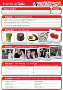 Valentine Handout Quiz 4