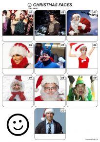 Christmas Faces Z3112
