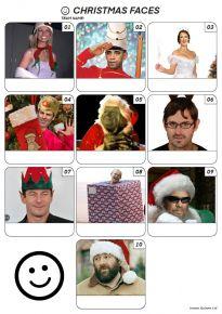 Christmas Faces - Z3114
