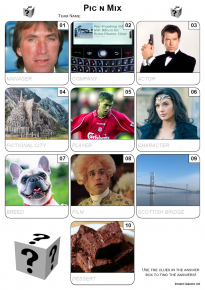 Mini Picture Quizzes By Post