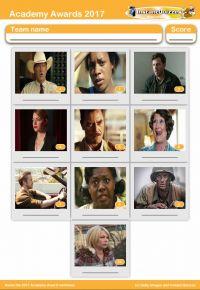 2017 Academy Awards nominees 2017 mini picture quiz