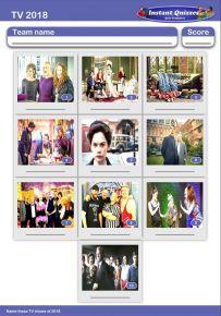 TV of 2018 Mini Picture Quiz - Z2908
