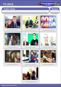 TV of 2018 Mini Picture Quiz - Z2911