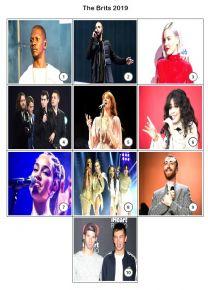 The BRITs 2019 Mini Picture Quiz - Z2941