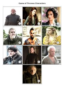 Game of Thrones Quiz Pack 2