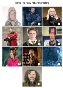 Harry Potter Quiz Pack 2